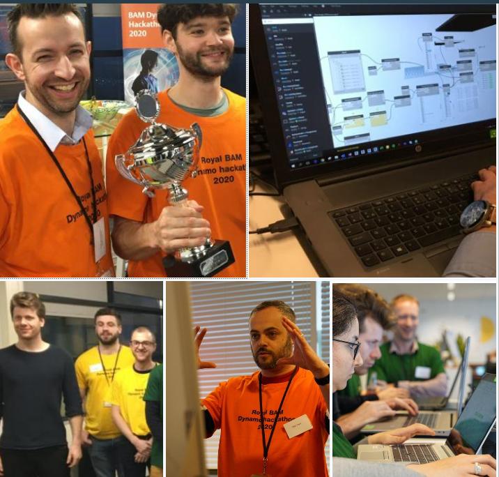 Succesvolle BAM Dynamo Hackathon